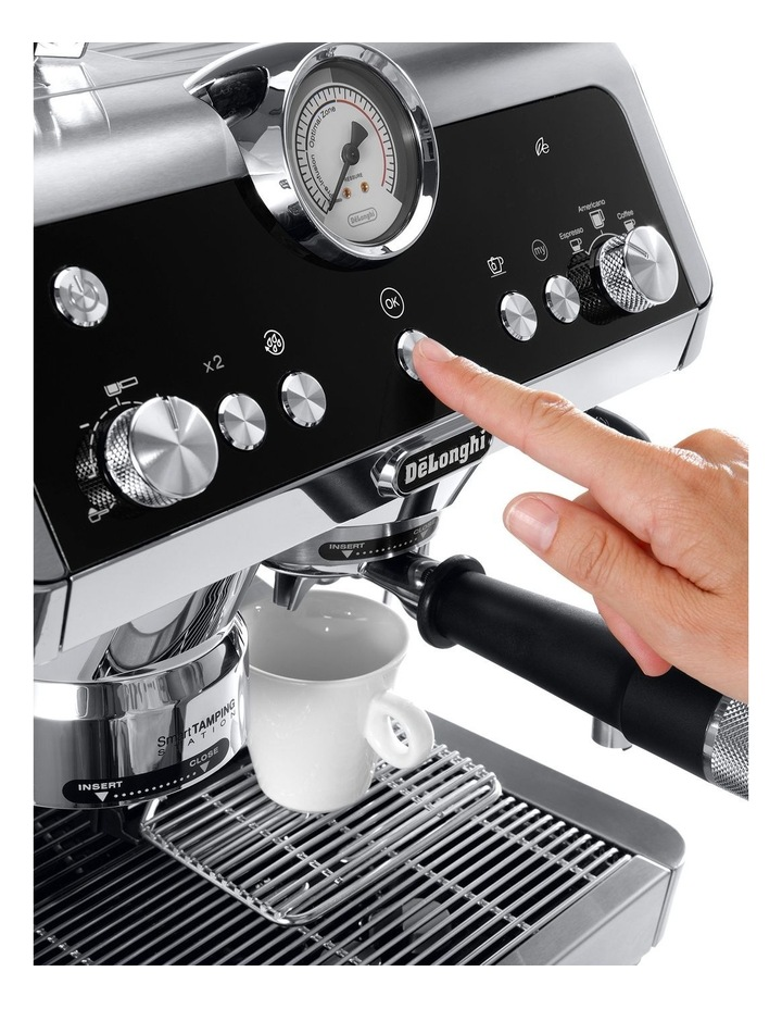 La Specialista Manual Coffee Machine Stainless Steel EC9335M image 3