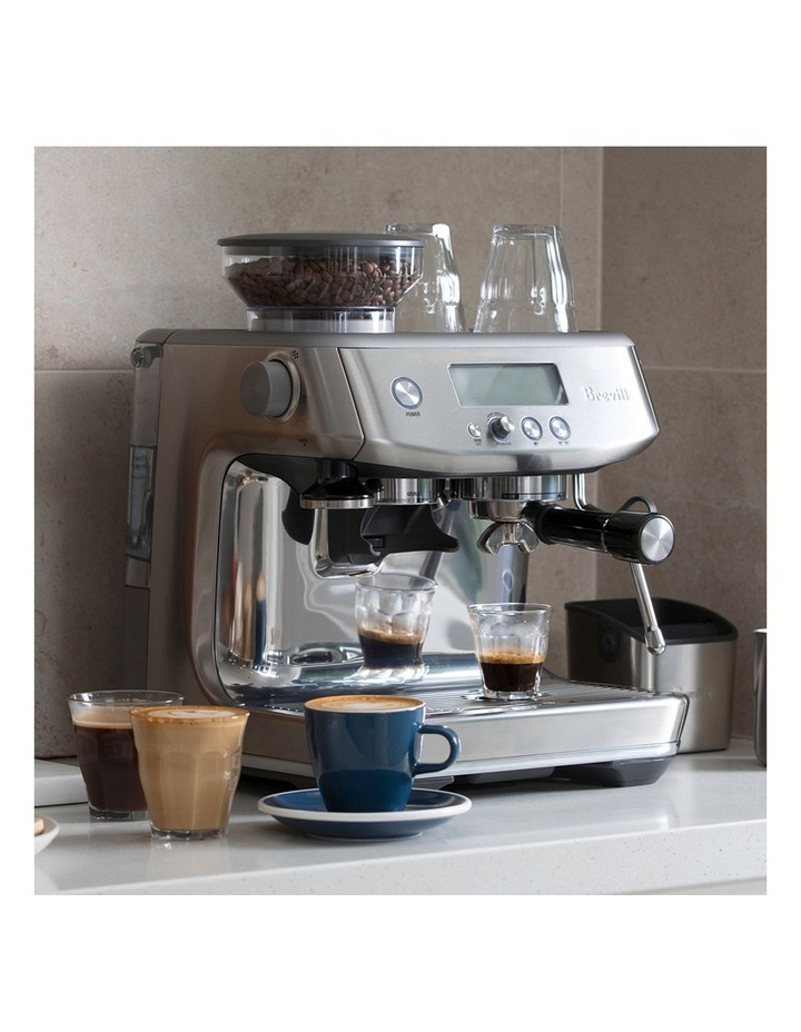 the Barista Pro Coffee Machine: Brushed Stainless Steel BES878BSS image 2