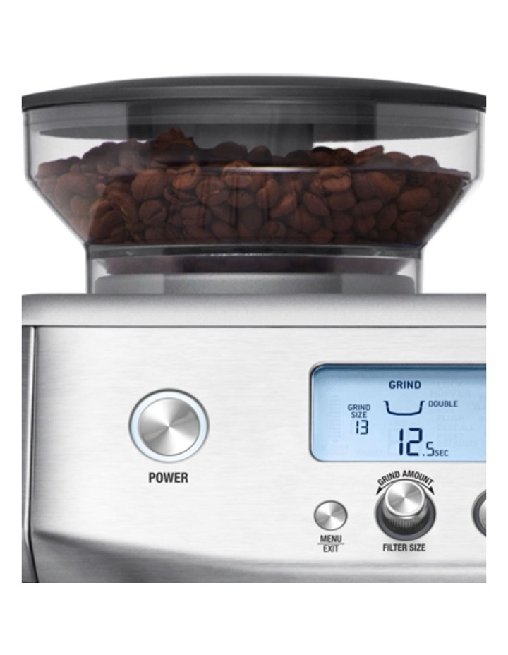 the Barista Pro Coffee Machine: Brushed Stainless Steel BES878BSS image 4