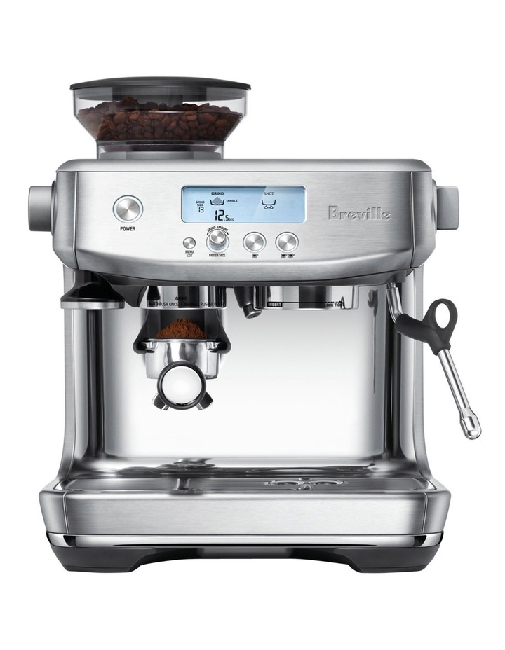 Breville The Barista Pro Coffee Machine Brushed