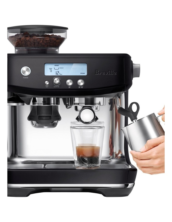 the Barista Pro Coffee Machine Black Truffle BES878BTR image 2