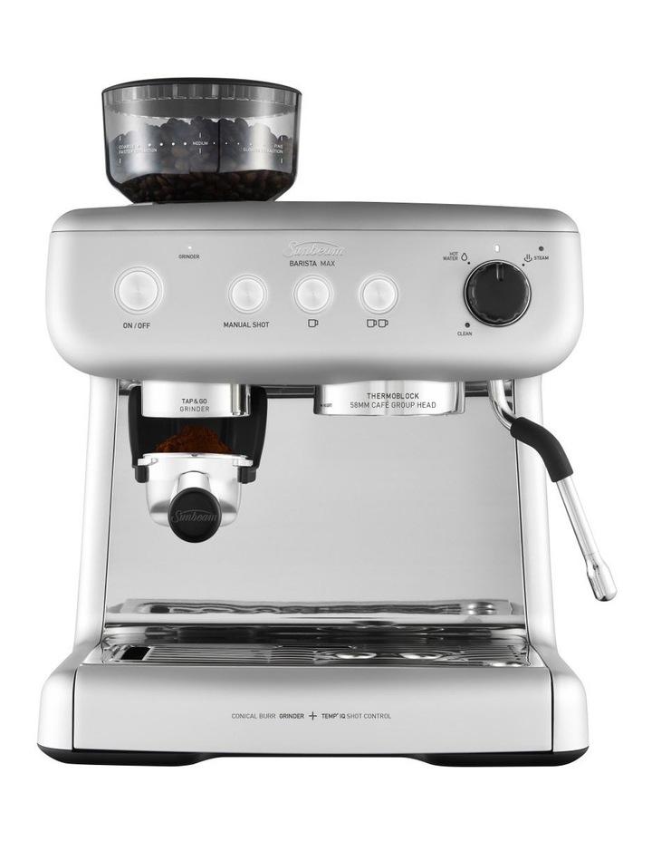 Barista Max espresso machine High Gloss Silver EM5300S image 1
