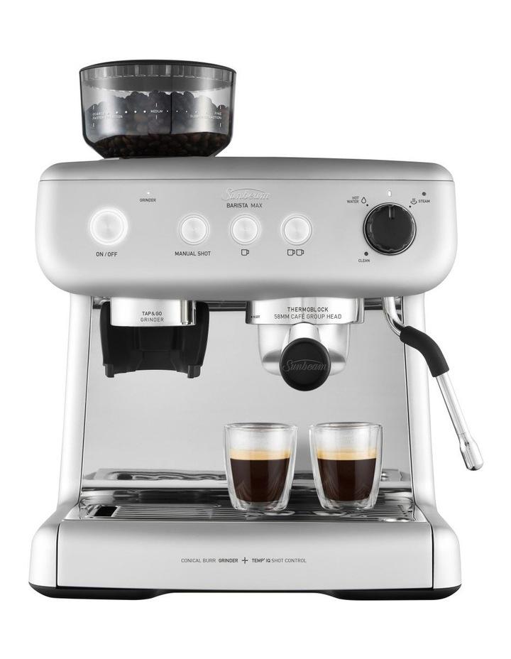 Barista Max espresso machine High Gloss Silver EM5300S image 2