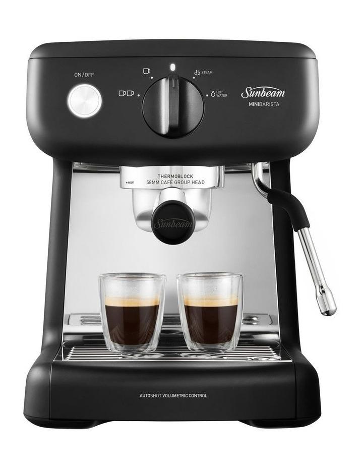 Mini Barista Coffee Machine Black EM4300K image 2