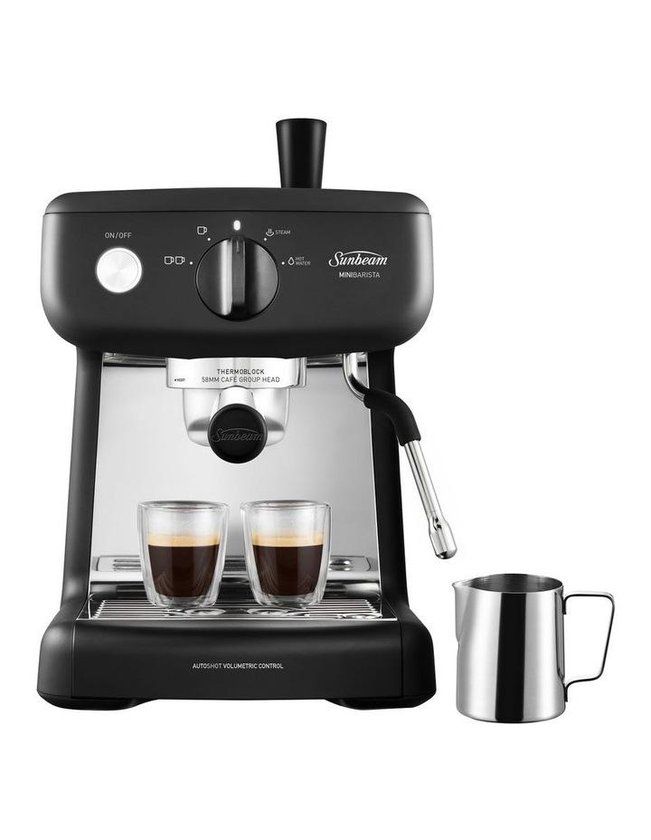 Mini Barista Coffee Machine Black EM4300K image 3