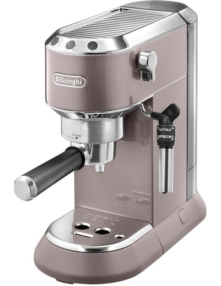 Dedica Metallics Pump Espresso Maker Pink EC785PK image 2