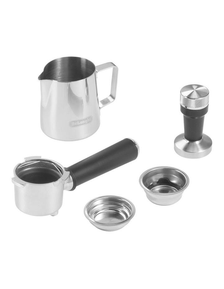 Dedica Metallics Pump Espresso Maker Pink EC785PK image 4