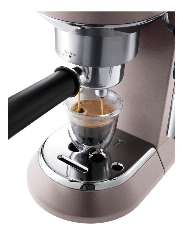 Dedica Metallics Pump Espresso Maker Pink EC785PK image 5