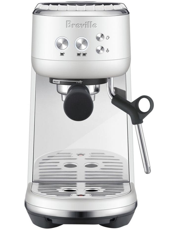 the Bambino Coffee Machine Sea Salt White BES450SST image 1