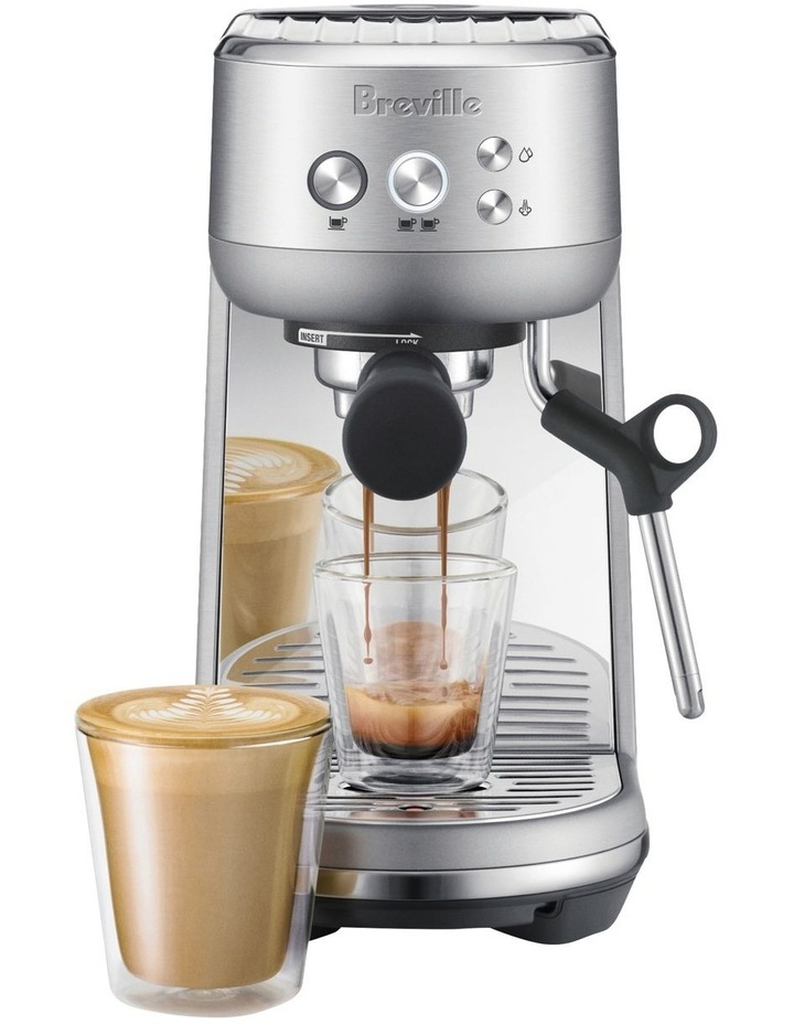 the Bambino Coffee Machine Brushed Stainless Steel BES450BSS image 2
