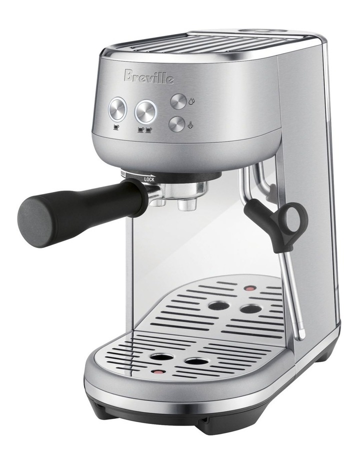 the Bambino Coffee Machine Brushed Stainless Steel BES450BSS image 3