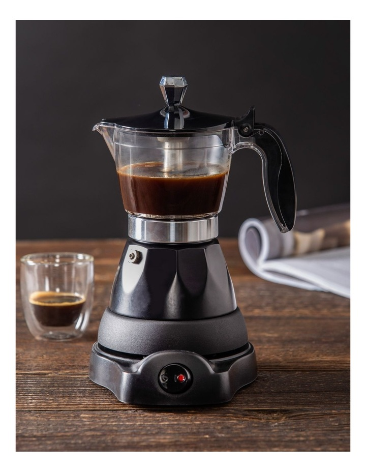 Electric Espresso Coffee Maker in Black DLE0073 image 2