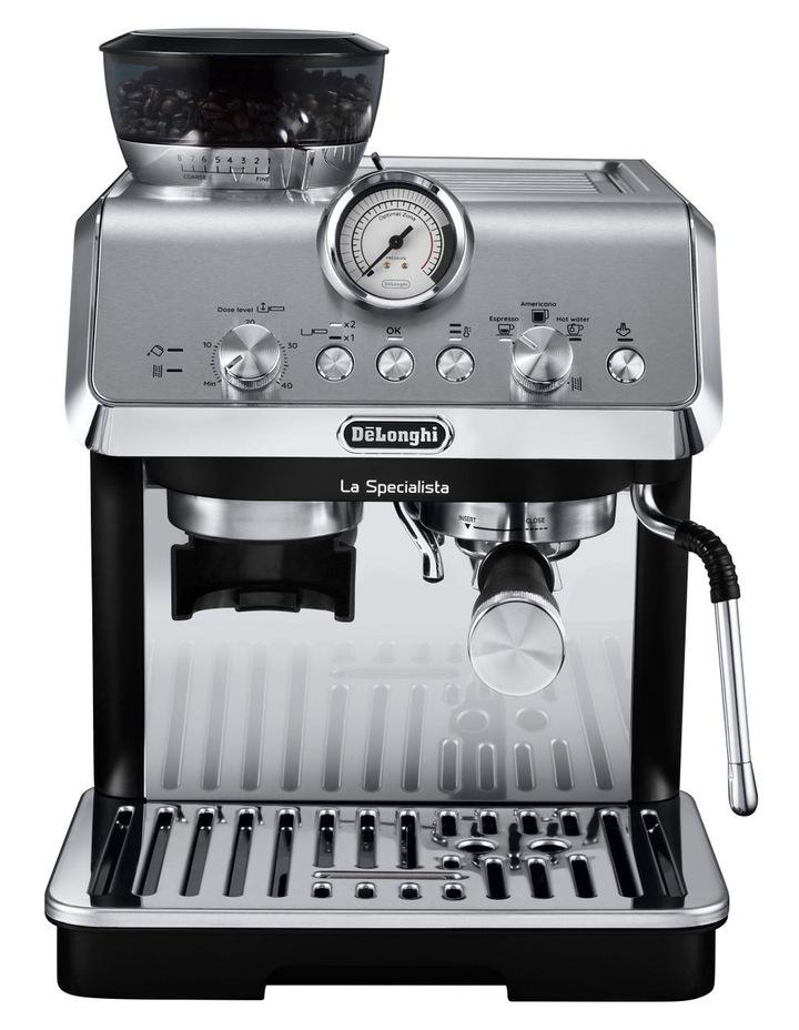 La Specialista Arte Manual Pump Coffee Machine: Metal/Black EC9155MB image 1