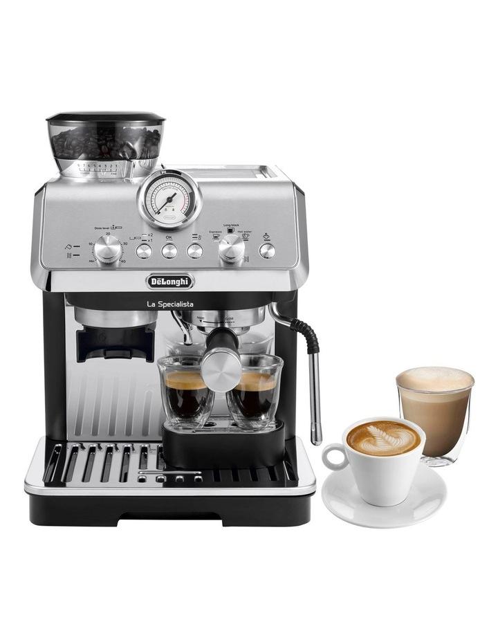 La Specialista Arte Manual Pump Coffee Machine: Metal/Black EC9155MB image 2