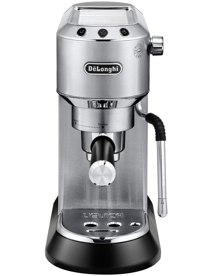 Dedica Arte Manual Pump Coffee Machine Metal EC885M image 1