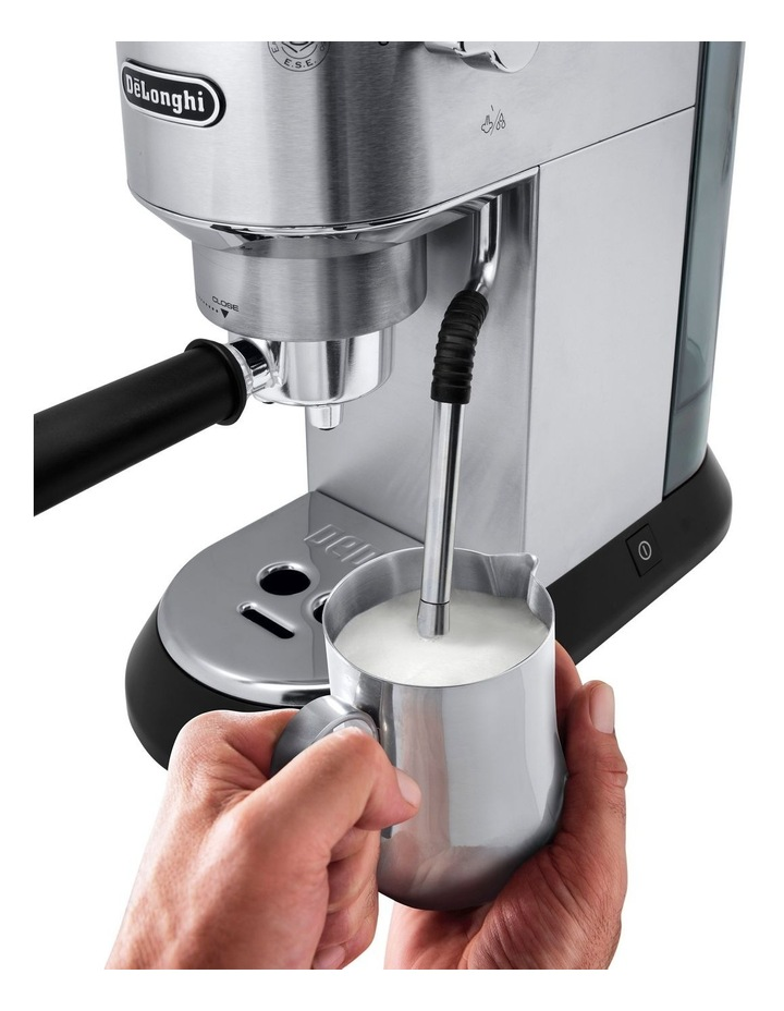 Dedica Arte Manual Pump Coffee Machine Metal EC885M image 3