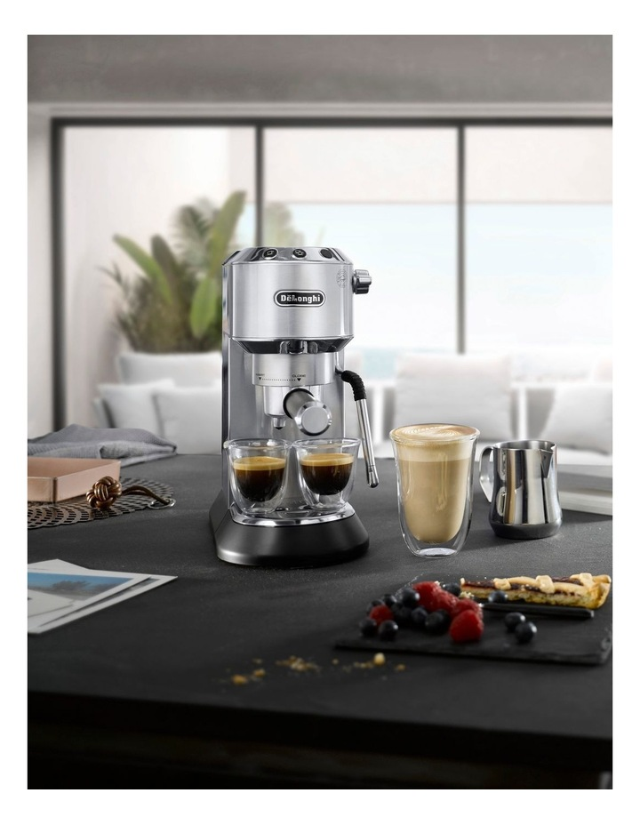 Dedica Arte Manual Pump Coffee Machine Metal EC885M image 5