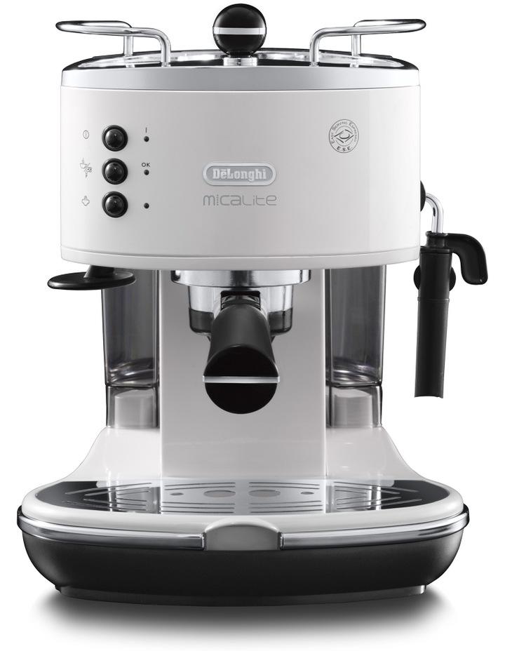 Icona Espresso Machine: White ECO310W image 1