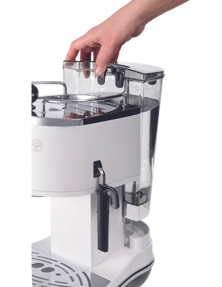 Icona Espresso Machine: White ECO310W image 2