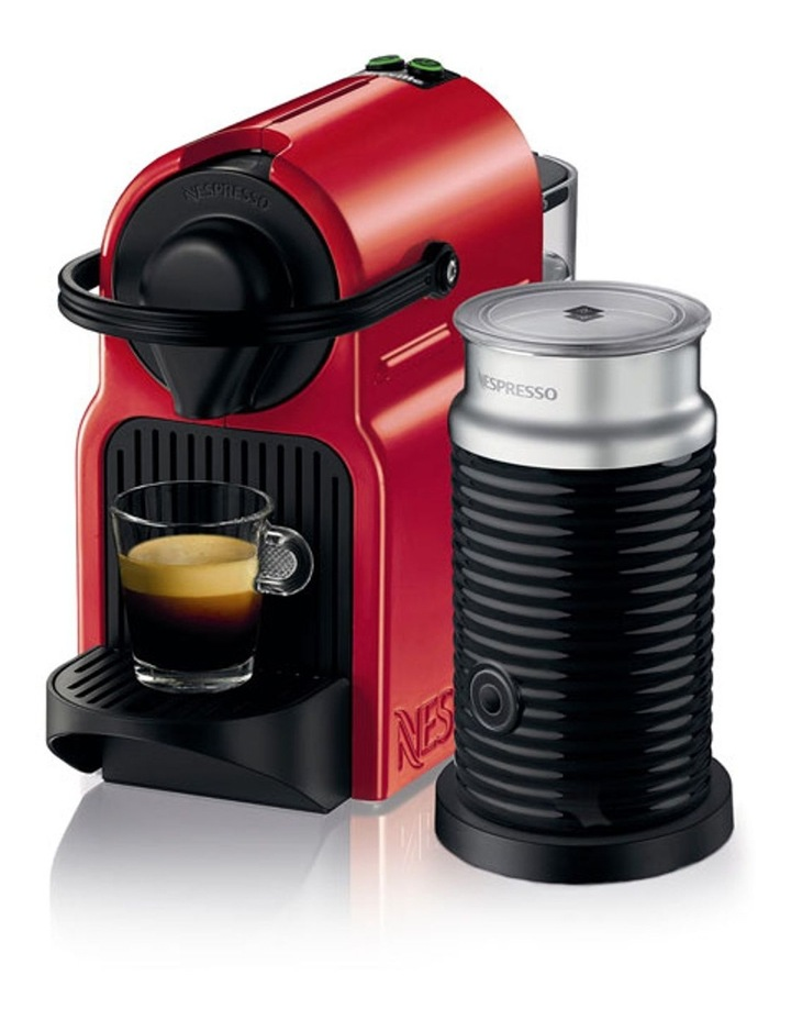 by Breville BEC200XR Inissia Capsule Coffee Maker: Red image 2
