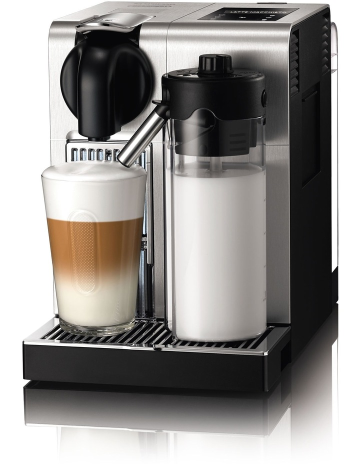 by Delonghi Lattissima Pro Capsule Coffee Maker: Silver EN750M image 1
