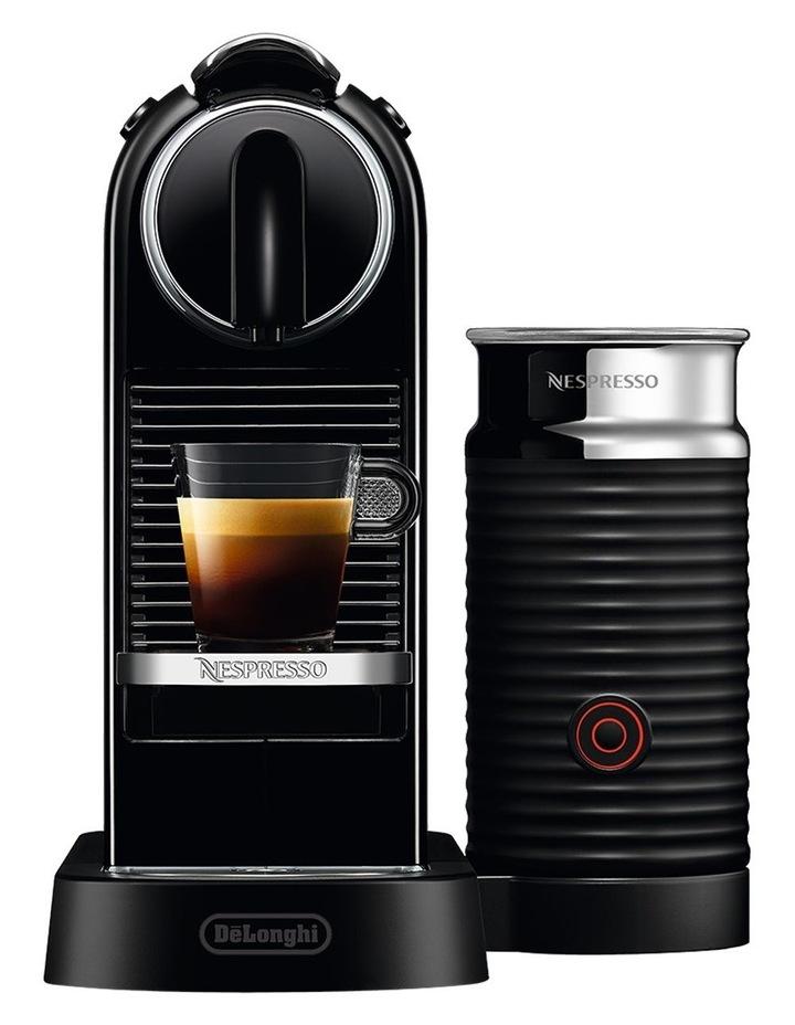 by Delonghi Citiz & Milk Capsule Coffee Machine Black EN267BAE image 1