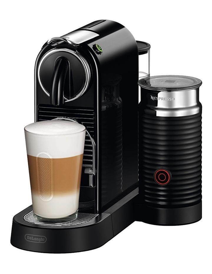 by Delonghi Citiz & Milk Capsule Coffee Machine Black EN267BAE image 2