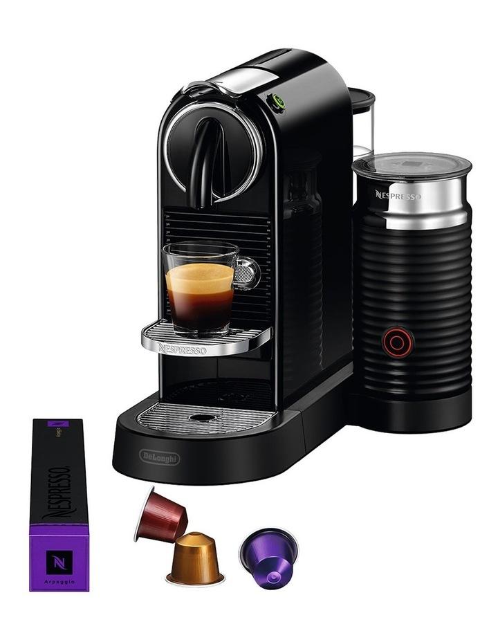 by Delonghi Citiz & Milk Capsule Coffee Machine Black EN267BAE image 6