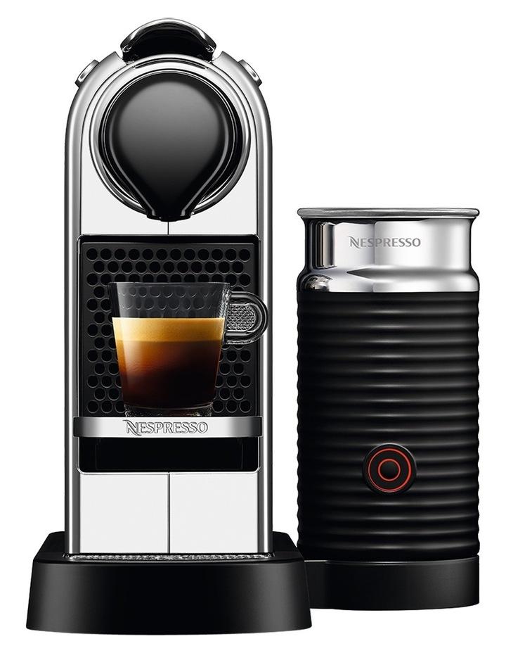 by Breville BEC650MC Citiz & Milk Capsule Coffee Machine: Chrome image 1