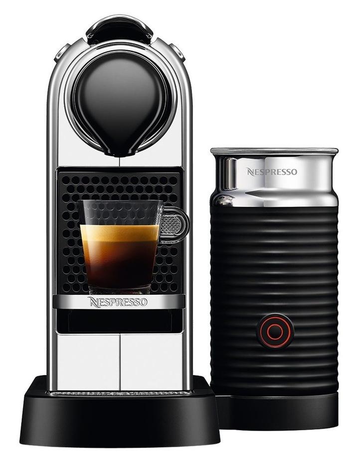 by Breville Citiz & Milk Capsule Coffee Machine Chrome BEC650MC image 1