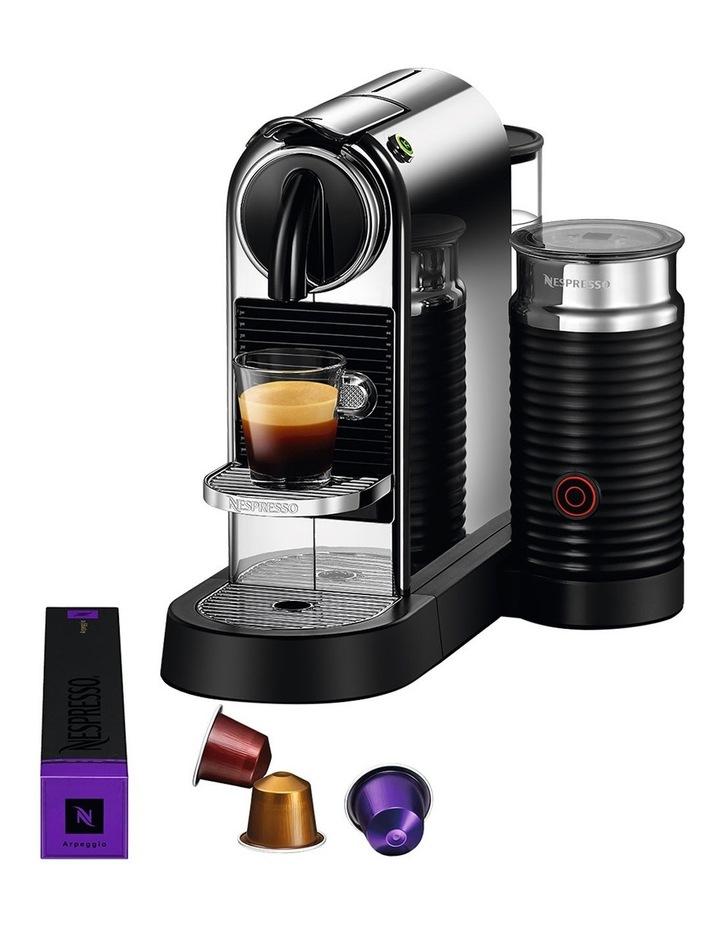 by Breville Citiz & Milk Capsule Coffee Machine Chrome BEC650MC image 3
