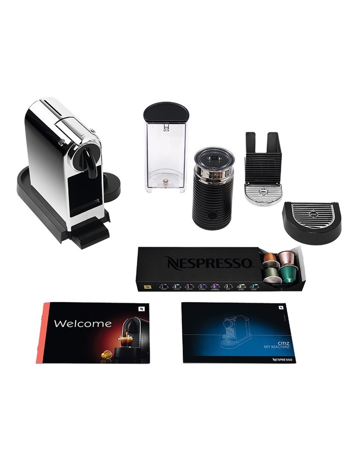 by Breville BEC650MC Citiz & Milk Capsule Coffee Machine: Chrome image 6