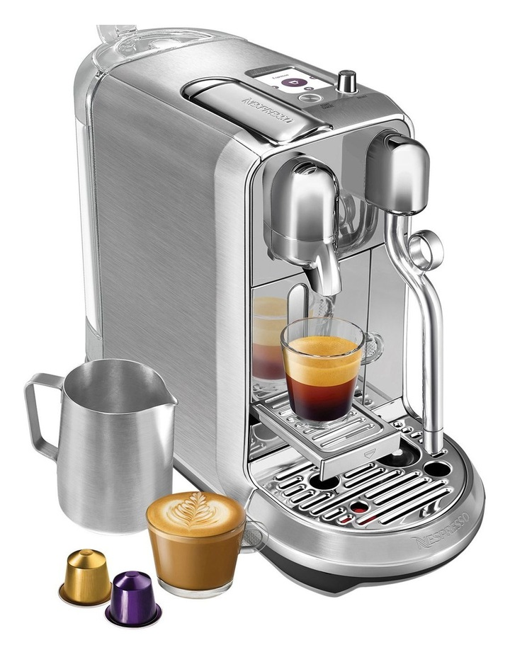 by Breville Creatista Plus Capsule Coffee Machine Brushed Stainless Steel BNE800BSS image 3