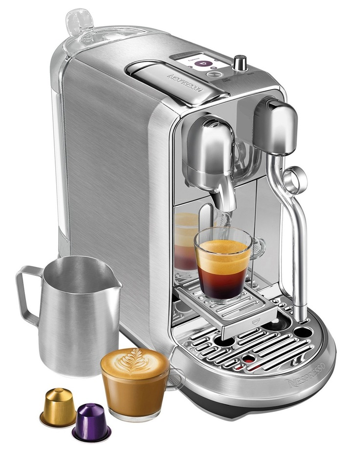 by Breville Creatista Plus Capsule Coffee Machine Brushed Stainless Steel BNE800BSS image 4