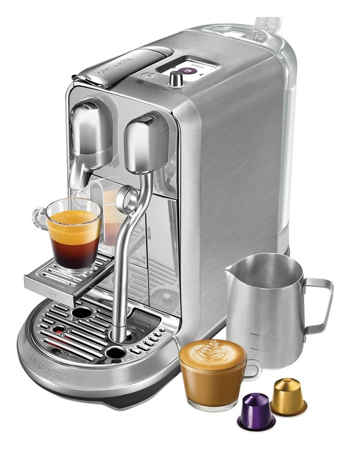 by Breville Creatista Plus Capsule Coffee Machine Brushed Stainless Steel BNE800BSS image 5