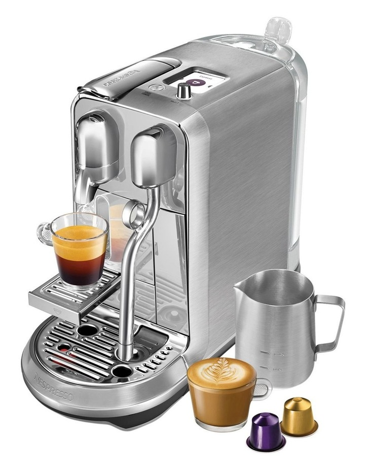 by Breville Creatista Plus: Brushed Stainless Steel BNE800BSS image 3