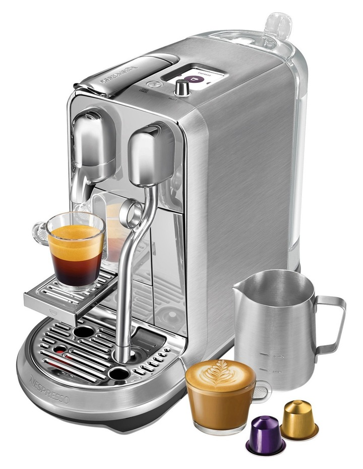 by Breville Creatista Plus Capsule Coffee Machine Brushed Stainless Steel BNE800BSS image 6