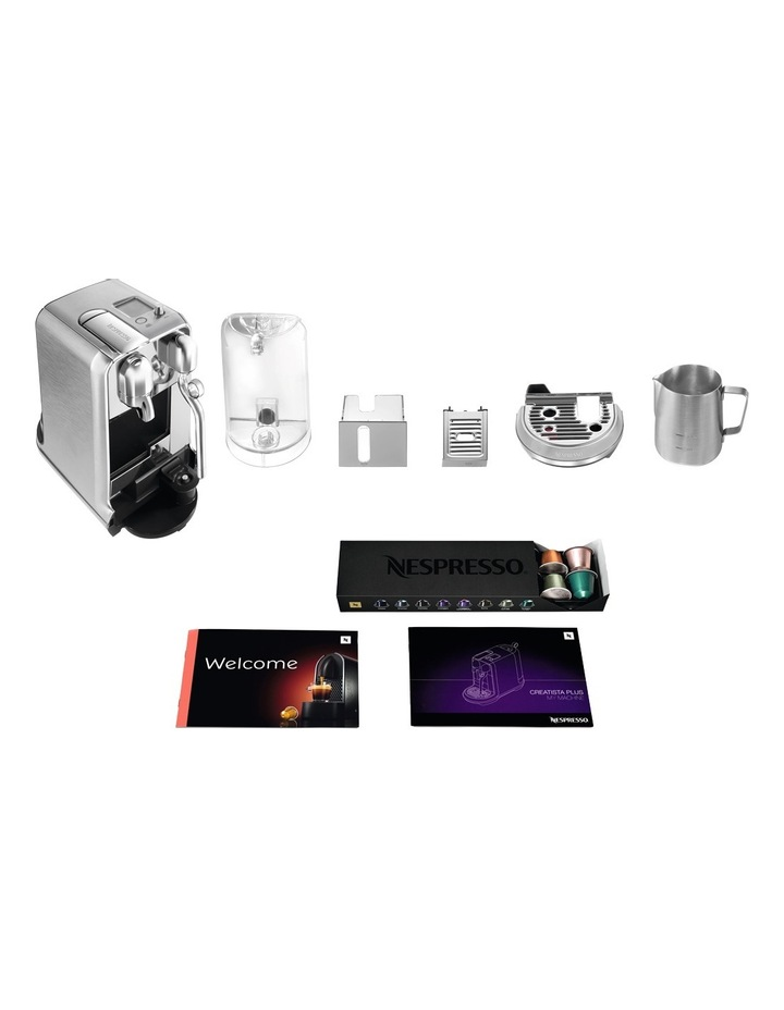 by Breville Creatista Plus Capsule Coffee Machine Brushed Stainless Steel BNE800BSS image 12