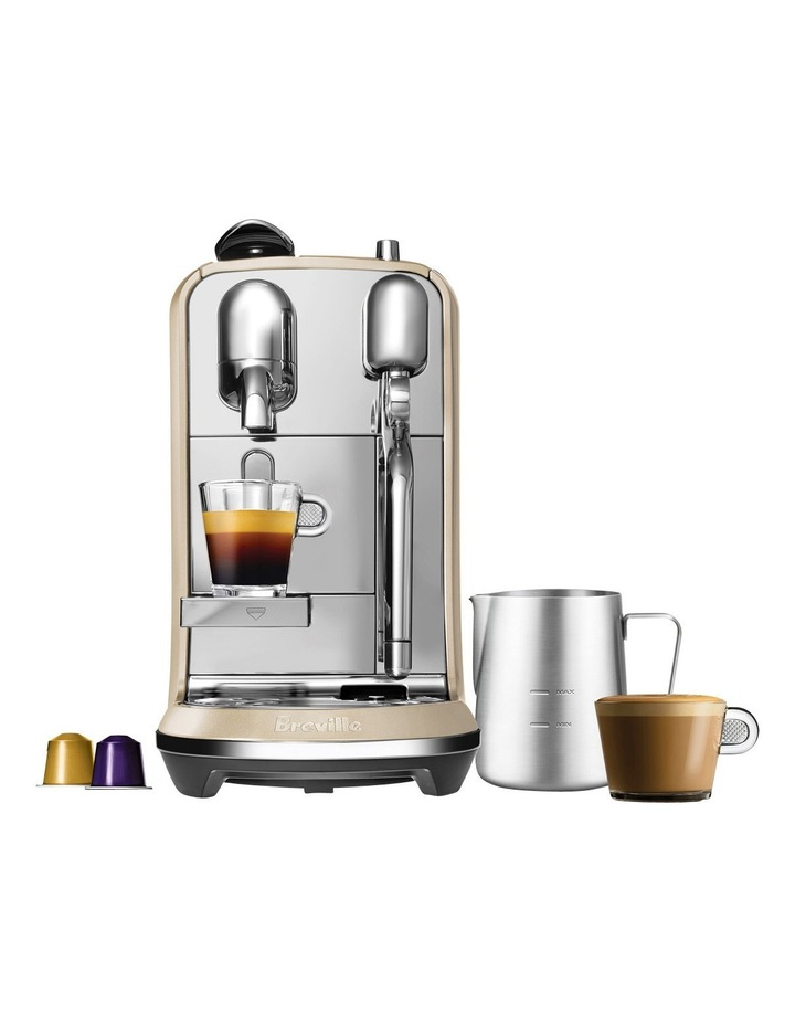by Breville Creatista Capsule Coffee Machine: Royal Champagne: BNE600RCH image 1