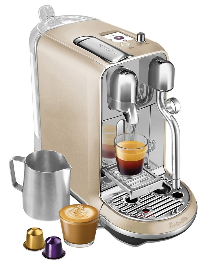 by Breville Creatista Capsule Coffee Machine: Royal Champagne: BNE600RCH image 2