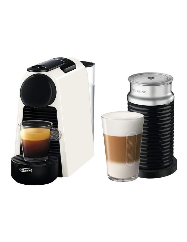 by Delonghi Essenza Mini & Milk Capsule Coffee Machine: White EN85WAE image 1
