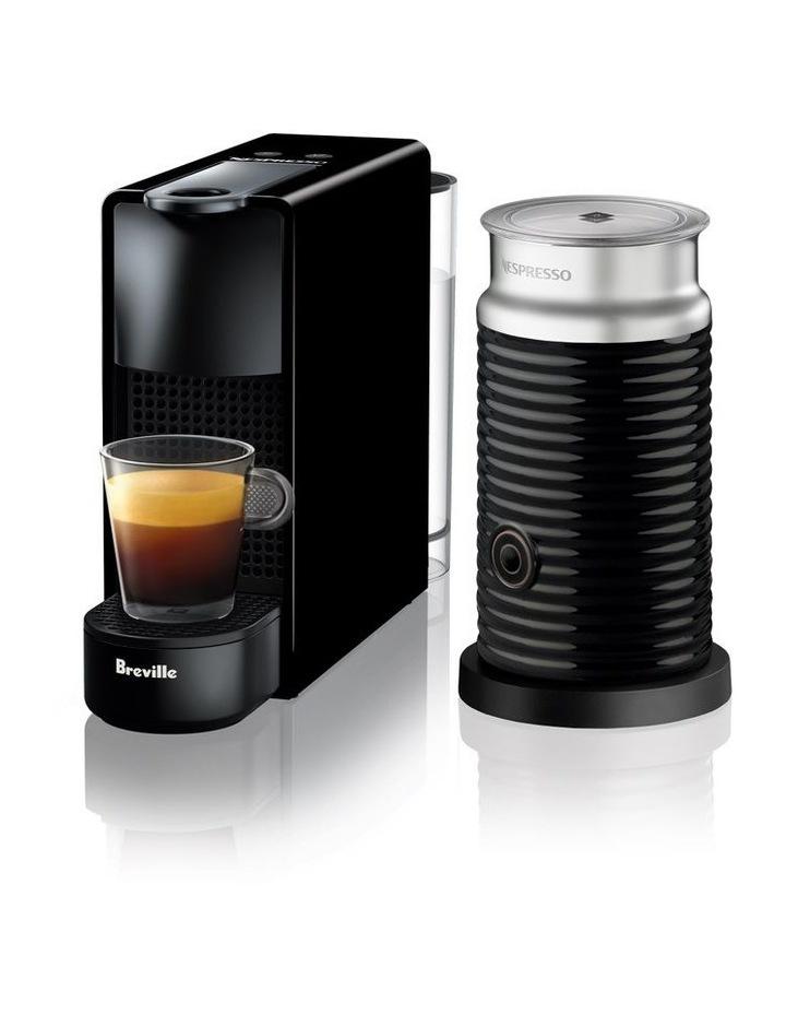 by Breville Essenza Mini & Milk Capsule Coffee Machine: Black BEC250BLK image 1