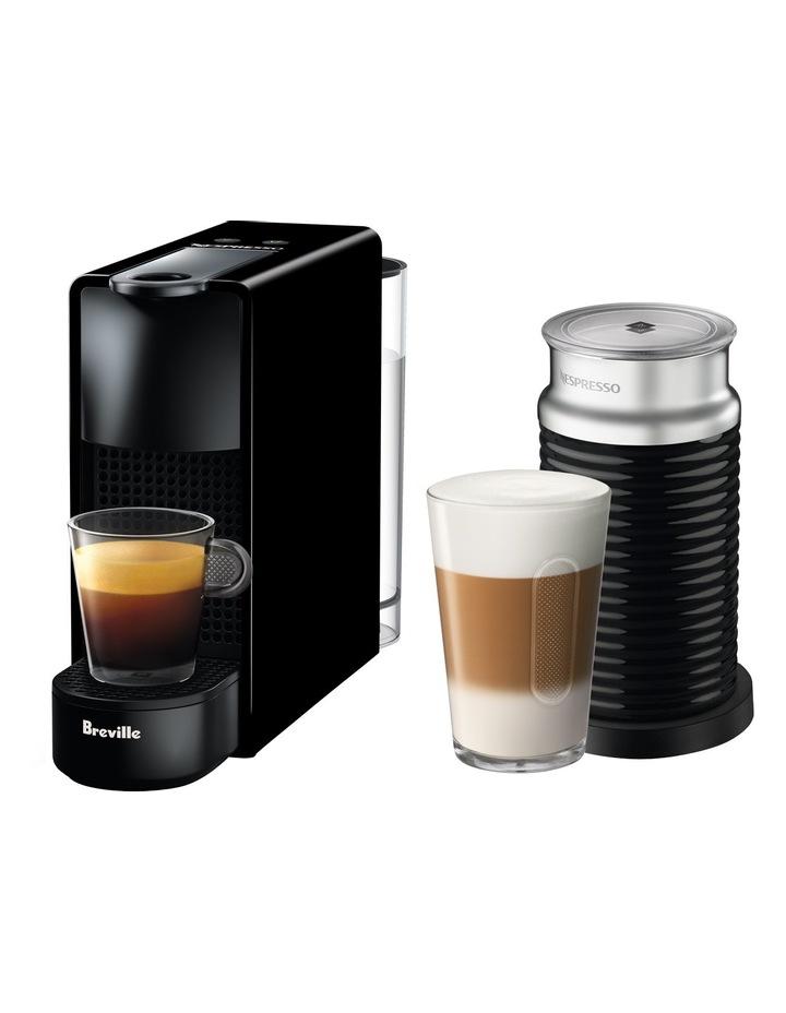 by Breville Essenza Mini & Milk capsule coffee machine - BEC250BLK - Black image 1