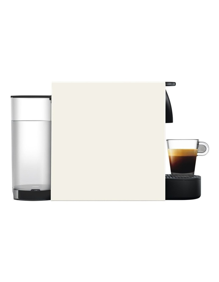 by Breville Essenza Mini & Milk Capsule Coffee Machine in Pure White BEC250WHT image 3