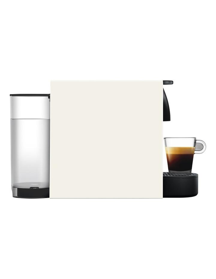 by Breville Essenza Mini & Milk Capsule Coffee Machine in Pure White BEC250WHT image 4