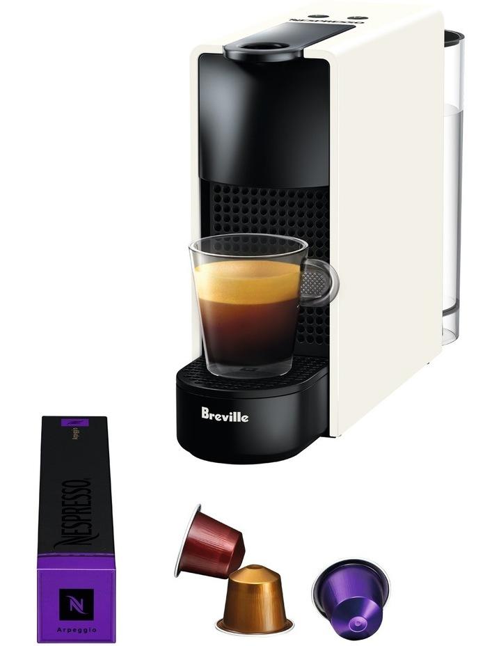 by Breville Essenza Mini & Milk Capsule Coffee Machine in Pure White BEC250WHT image 6