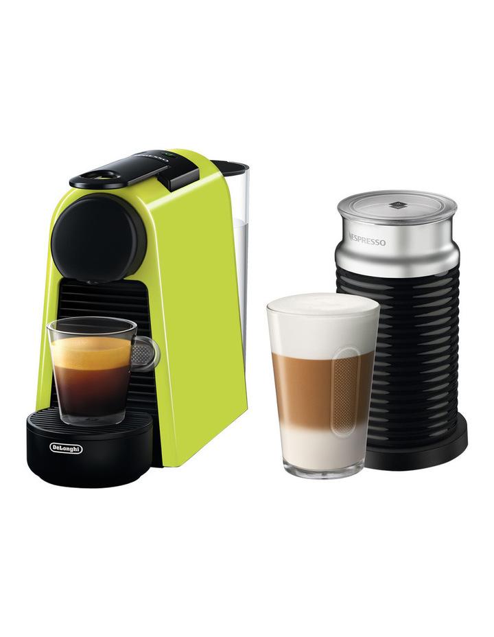 by Delonghi Essenza Mini & Milk capsule coffee machine: EN85LAE Lime image 1
