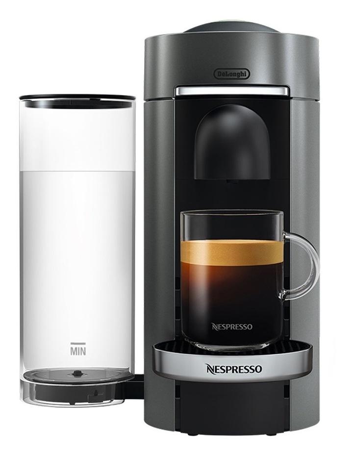 by Delonghi VertuoPlus Deluxe Capsule Coffee Machine Titanium ENV155T image 1