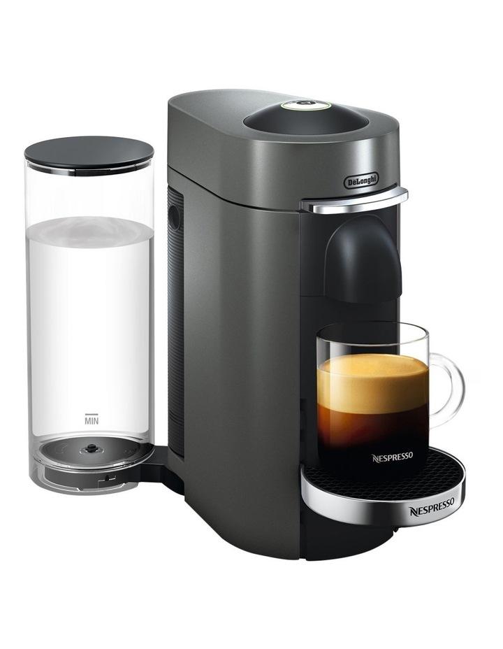 by Delonghi VertuoPlus Deluxe Capsule Coffee Machine: Titanium ENV155T image 3