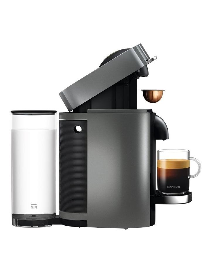 by Delonghi VertuoPlus Deluxe Capsule Coffee Machine: Titanium ENV155T image 4